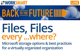 Webinar: Using Microsoft 365 for Sharing and Storing Files