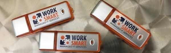 WorkSmart USB drive