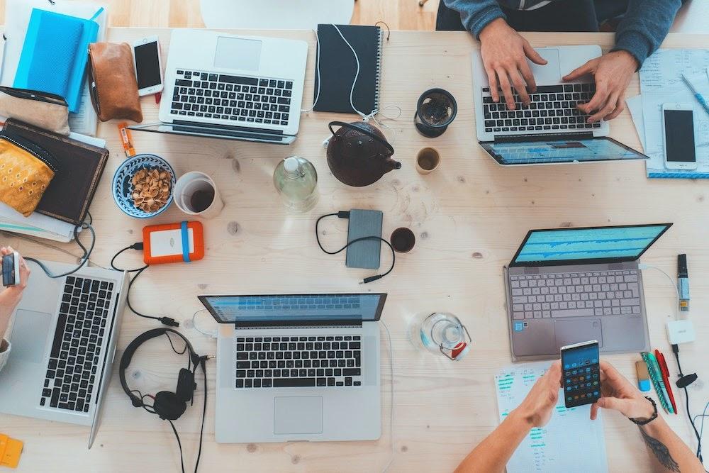 Microsoft Teams creates virtual coworking spaces.